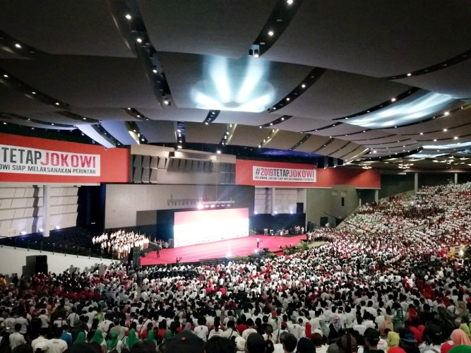 Jokowi Minta Relawan Sentuh Grassroot, I