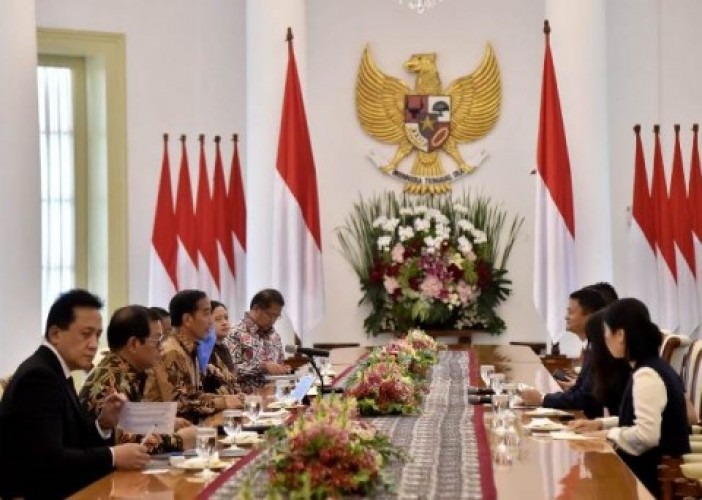 Jokowi Terima Bos Alibaba Soal e-Commerce Indonesia