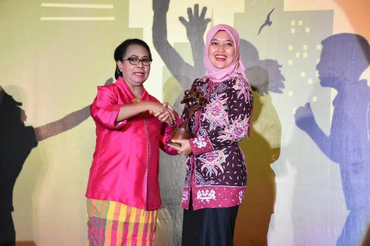 Kabupaten Lamtim Raih Penghargaan Sebagai Kabupaten Layak Anak