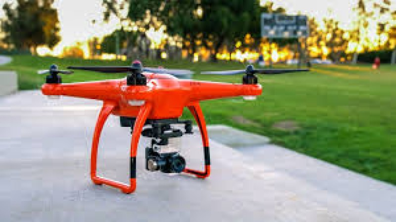 Kabur dengan Drone