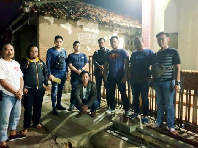 Kabur Ke Banten, Tarmiyadi Ditangkap