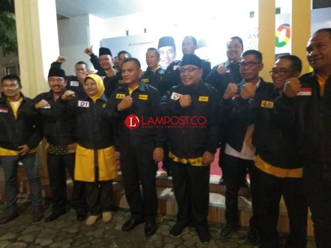 Kader Partai Golkar Lampung Harus Menangkan Partainya