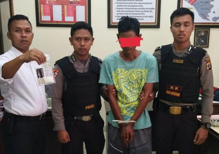Kantongi 11 Gram Sabu, Warga Way Harong Diringkus Polisi
