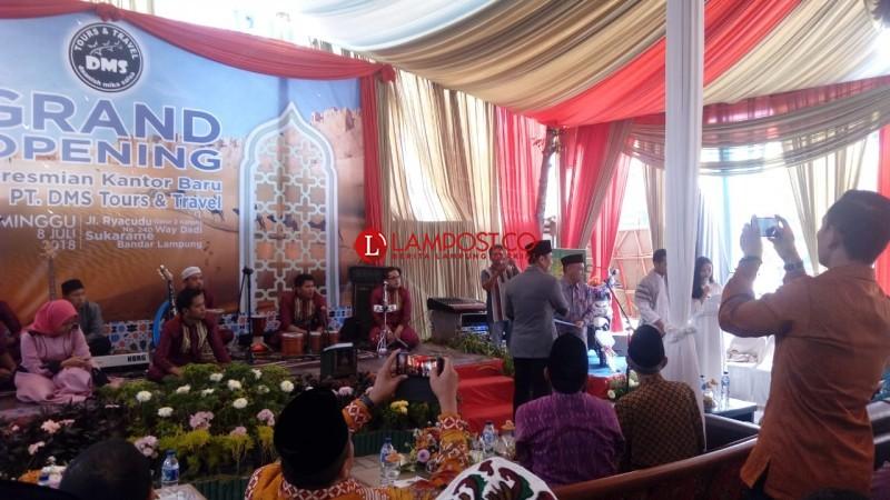 Kantor Baru PT. DMS Tours and Travel Akomodir Layanan Haji dan Umroh