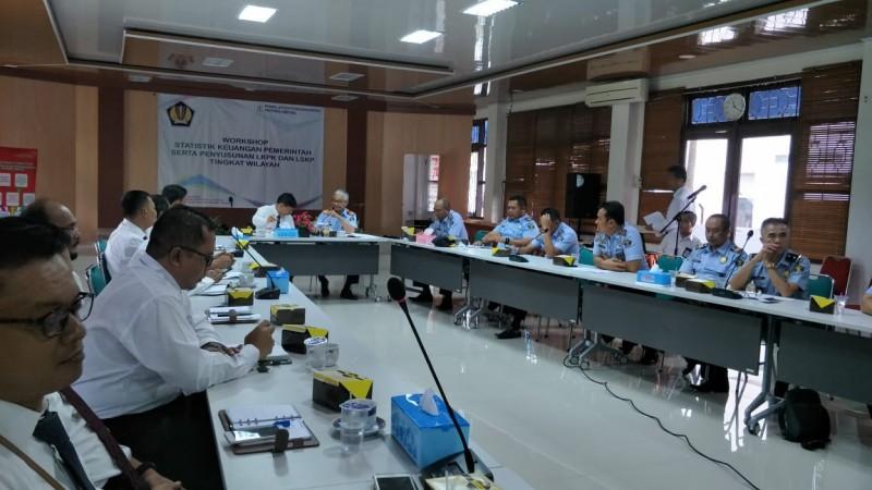 Kanwil DJPb Lampung Bahas Pelaksanaan Anggaran