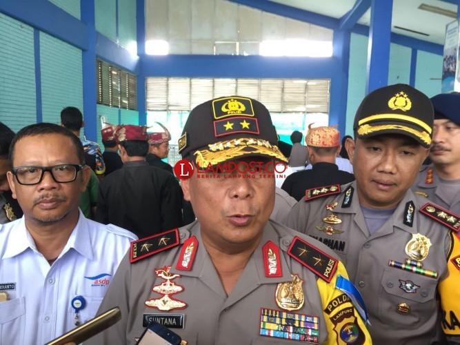Kapolda Sebut Satgas Anti-Begal Untuk Keamanan Pemudik