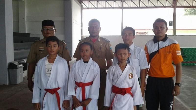 Karateka BKC Tanjungbintang Sabet Juara O2SN SD Lamsel