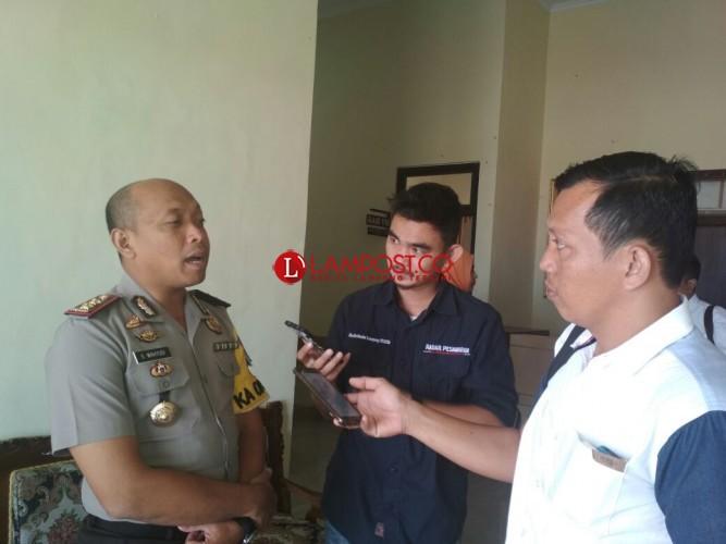 Kasus Terbakarnya Gudang BBM, Polres Pesawaran Panggil DPMPT