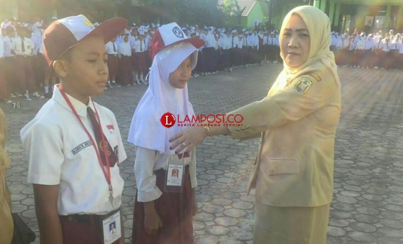 Keceriaan dan Semangat Anak Saat Mengikuti MPLS di SMPN 19 Bandar Lampung