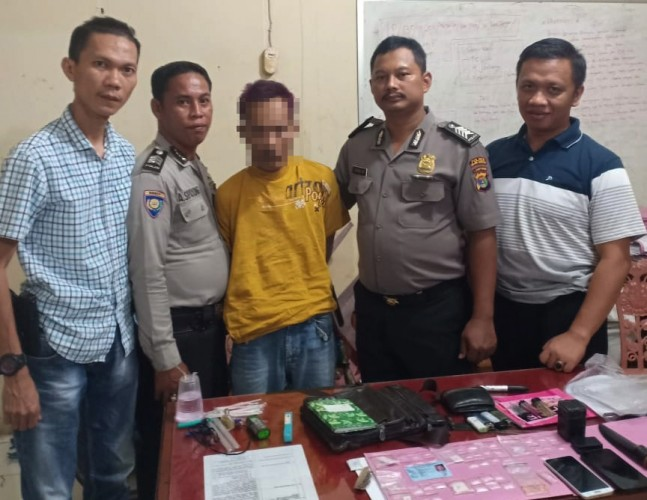 Kedapatan Miliki 37 Paket Sabu, Warga Pagardewa Ditangkap Polisi