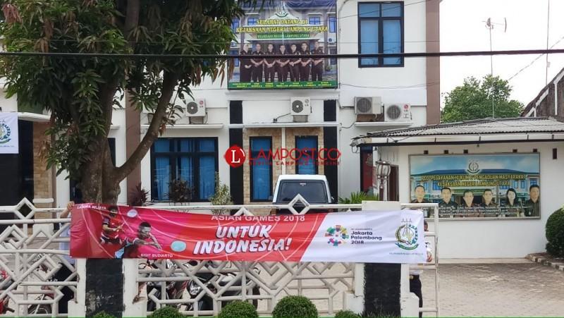 Kejari Kotabumi Sukseskan Kegiatan Asian Games