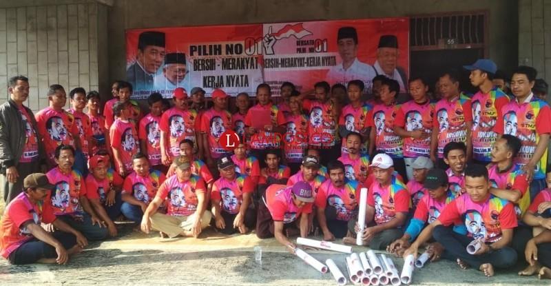 Kelompok Rakyat Dukung Jokowi Gelar Deklarasi di Tumijajar