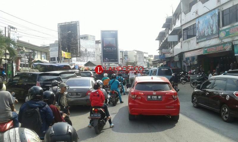 Kemacetan Arus Mudik Mulai di Rasakan di Pringsewu