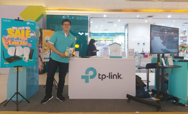 Kenalkan Produk Anyar, TP-Link Roadshow Mall to Mall
