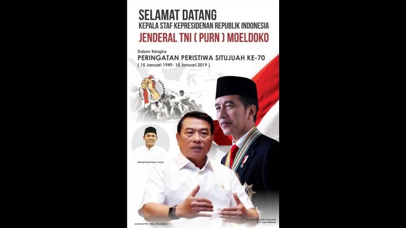 Kenang Peristiwa Pembantaian 69 Perwira dan Rakyat, Presiden Jokowi Utus Moeldoko ke Situjuah
