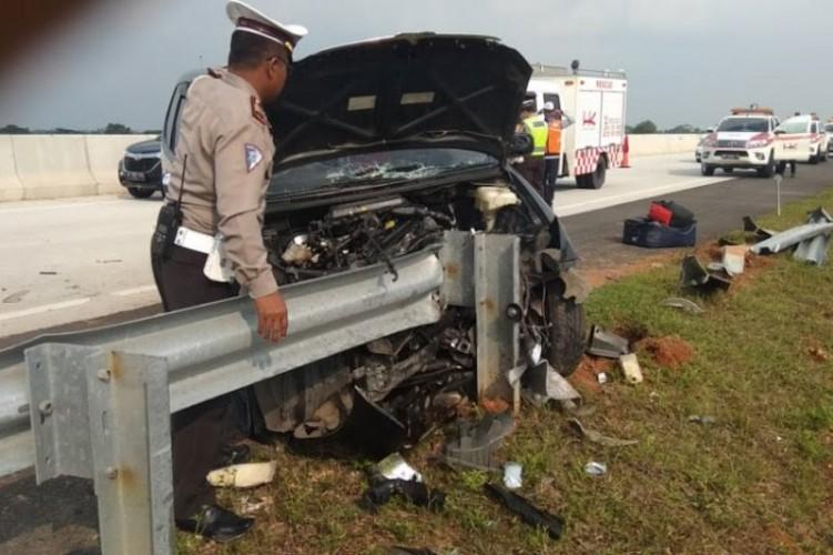 Kendaraan Pemudik Kecelakaan di Tol Terbanggi Besar, Satu Orang Meninggal