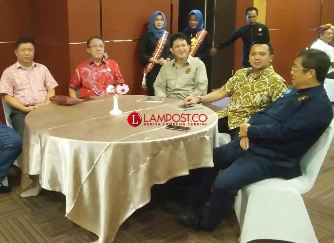 Kerajaan Sekala Brak Buka Bersama dengan PSMTI Lampung
