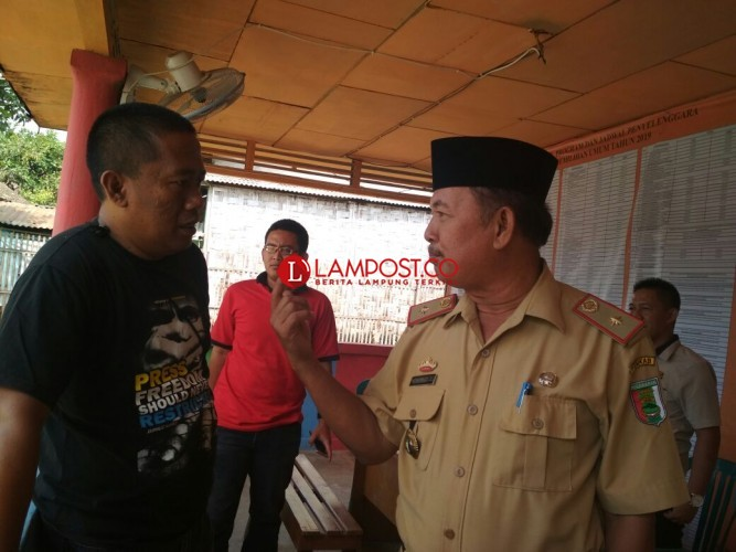 Kesbangpol Koordinasi dengan KPU Pesawaran Terkait Bacaleg dari PNS