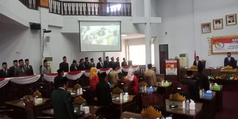 Ketua DPR Salah Sebut Nama Megawati, Suasana Sidang DPRD Tubaba Sempat Riuh