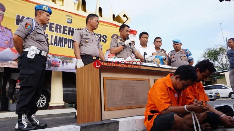 Kirim Ganja 5 Kg via Jasa Pengiriman Barang Digagalkan Polres Lampung Selatan