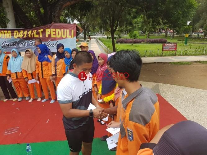 Kodim 0411/Lampung Tengah Kembali Berbagi Rezeki