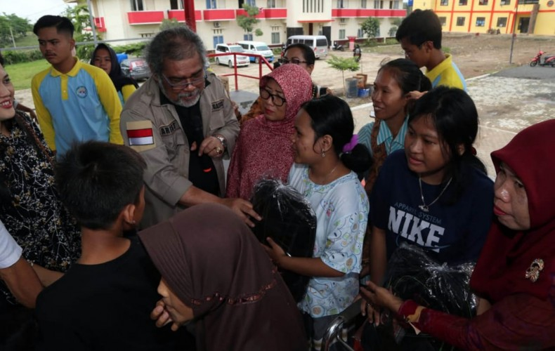 Komnas Perlindungan Anak Bantu Anak Korban Tsunami