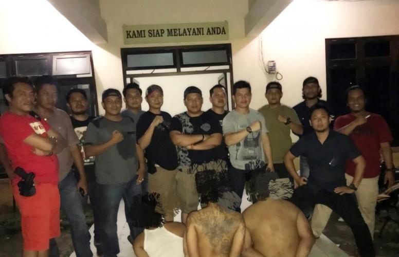 Komplotan Pembobol Rumah Kosong Ditangkap Tekab 308