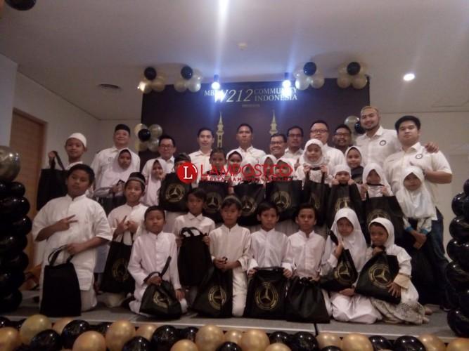 Komunitas MBW212CI Gelar Acara Bakti Sosial Ramadan