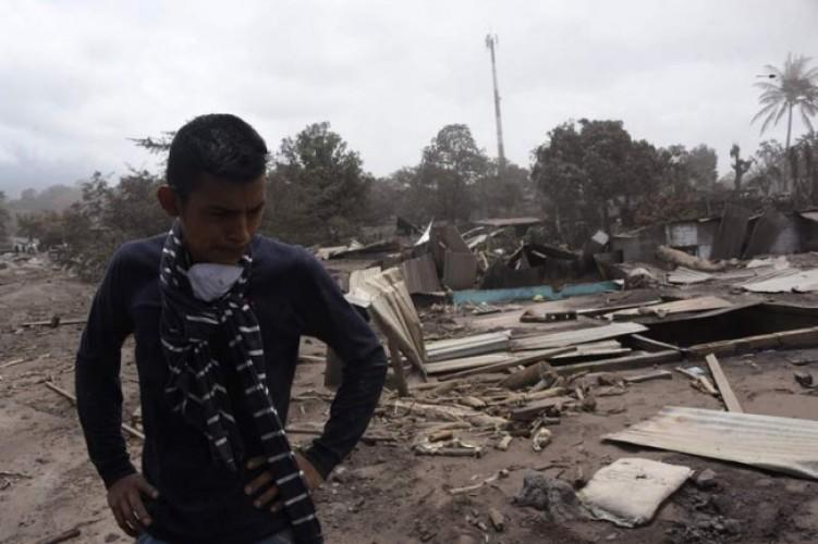 Korban Tewas Erupsi Gunung Fuego Guatemala Jadi 109