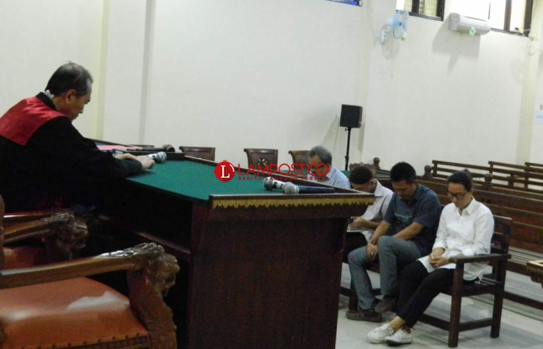Korupsi Pengadaan Kapal, Mantan Kadishub Pesawaran Dituntut 18 Bulan