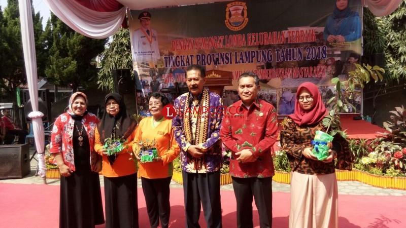 Kota Sepang Laik Wakili Lampung di Tingkat Nasional Lomba Kelurahan Terbaik