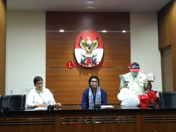 KPK Tetapkan Zainudin Hasan Sebagai Tersangka