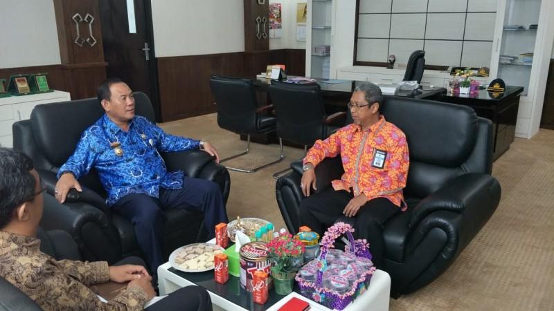 KPPN Kotabumi Audiensi Bersama Pemkab Tulang Bawang