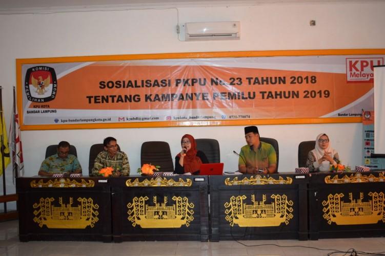KPU Ingatkan Pentingnya Pendidikan Politik Saat Kampanye