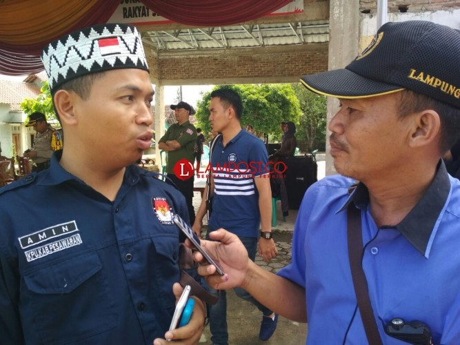 KPU Koordinasi dengan Polres Pesawaran Terkait Bacaleg Terlibat Illegal Logging