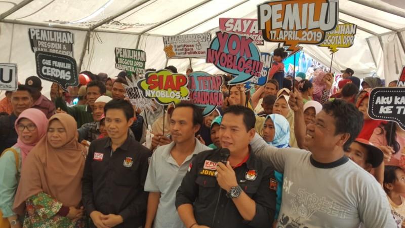 KPU Lampung Jamin Hak Pilih Korban Tsunami