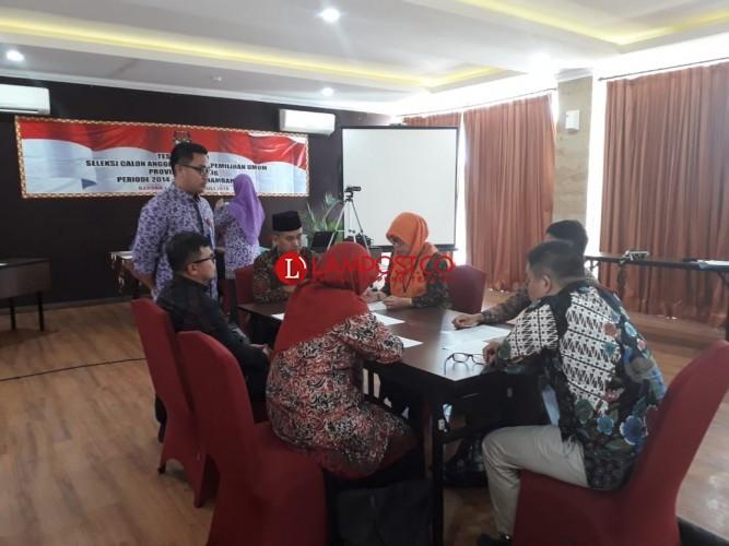 Kualitas 5 Anggota KPU Lampung Tambahan Dibedah pada Tes Wawancara