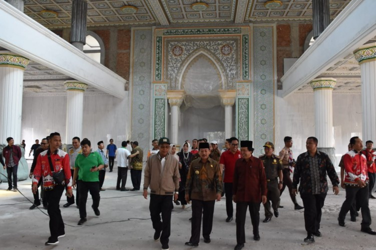 Kunjungi UIN, Herman HN Janji Bantu Pembangunan Masjid
