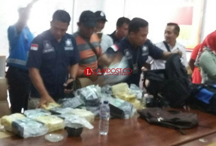 Lagi, Petugas Amankan 10 Kg Sabu di Pelabuhan Bakauheni