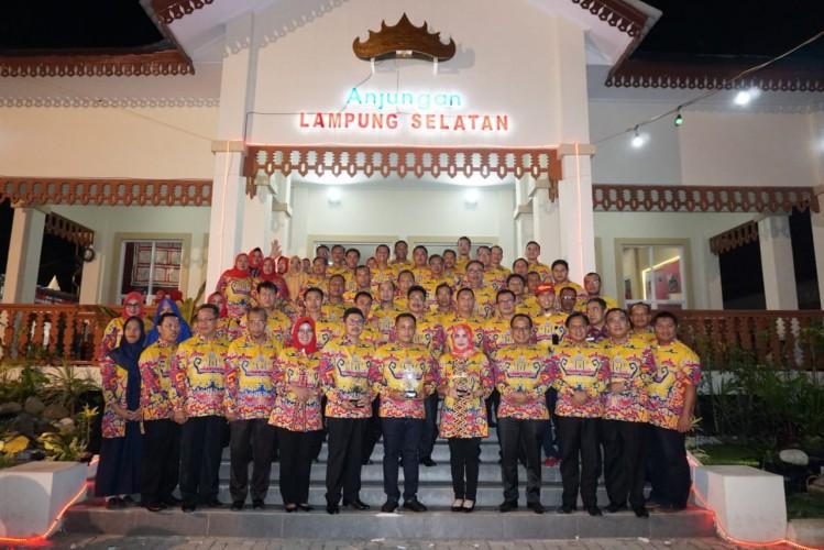 Lampung Selatan Raih Juara I Anjungan Favorit