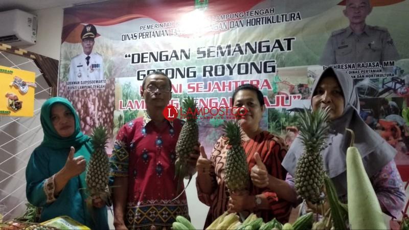 Lamteng Tunjukkan Produk Pertanian di Lampung Fair