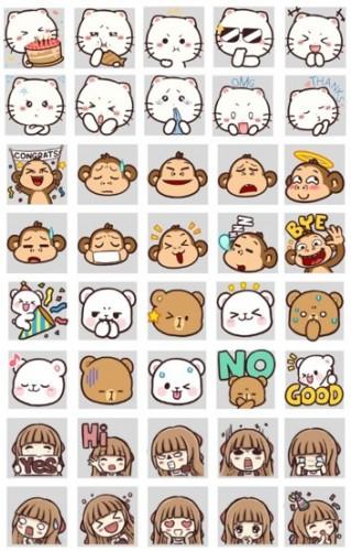 LINE Indonesia Bagikan 40 Emoji Gratis