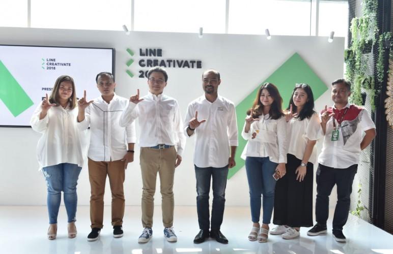 LINE Indonesia Resmi Mulai Kompetisi Creativate 2018