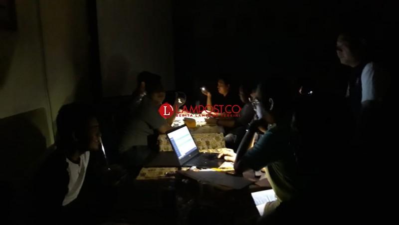 Listrik Padam Ganggu Pendaftaran DPD RI Hari Terakhir