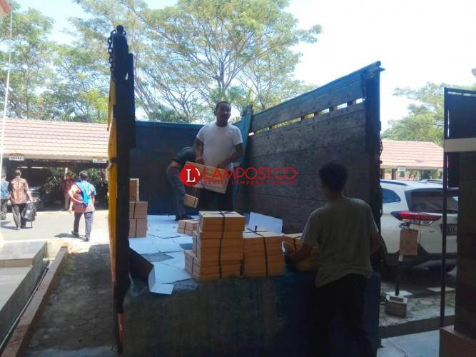 Logistik Pilkades Serentak Segera Didistribusikan