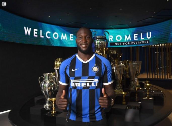 Lukaku Resmi Pindah ke Inter Milan