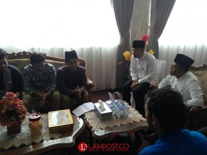 Mahasiwa UIN Asal Thailand Sebut Tinggal di Lampung Sangat Bahagia