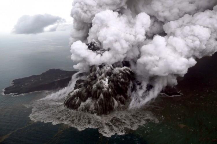 Masuki Fase Baru, Status Gunung Anak Krakatau Naik Level Jadi Siaga