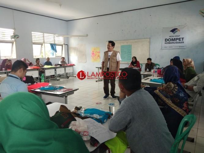 Media Group Latih Penanggulangan Bencana bagi Guru Pandeglang