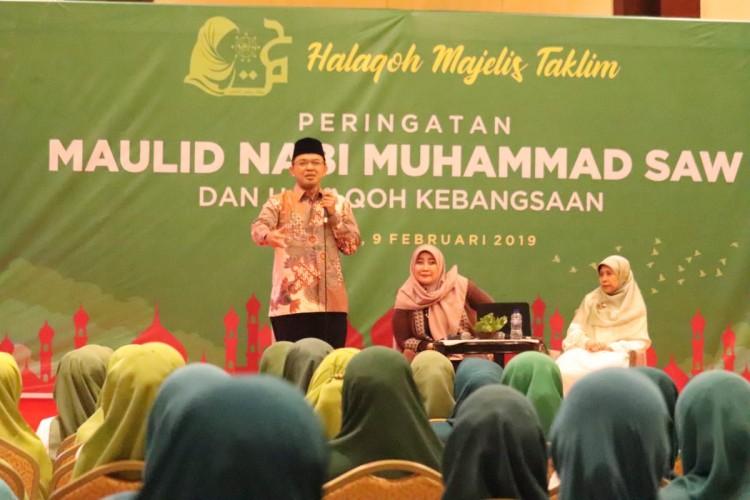 Menangkan Jokowi-Amin, Bupati Sutan Riska: Target Kita 63 Persen!